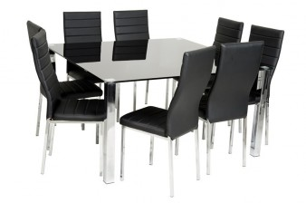 dining room table black