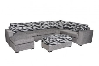 furniture lounge gray white