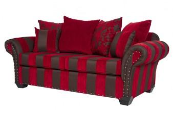 furniture lounge red black
