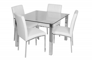 dining room table gray