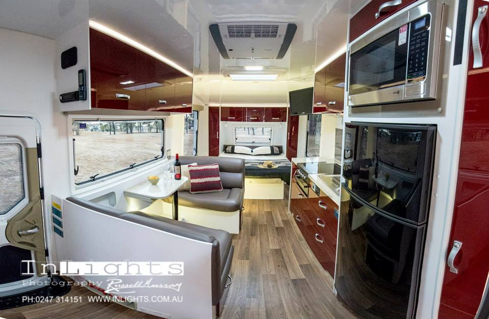 Corporate photography inlights photography for Interior caravan designs