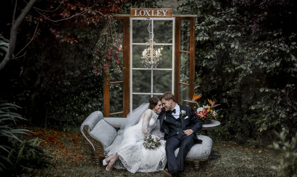 loxley on bluebird hill wedding