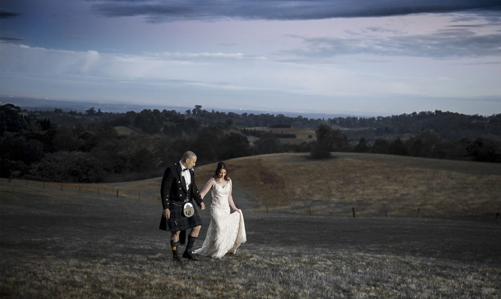 loxley on bluebird hill wedding field