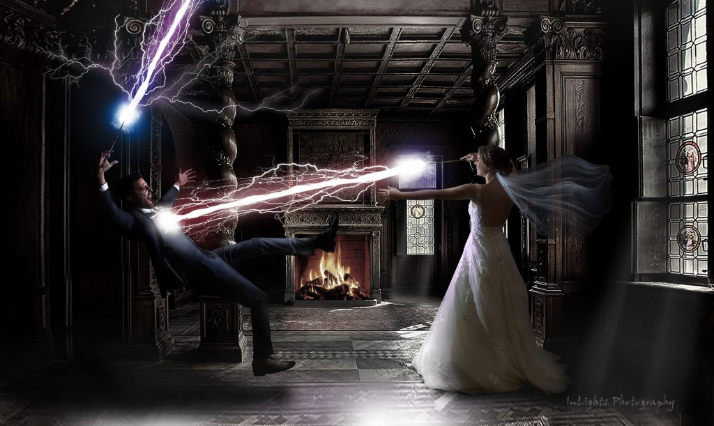 harry potter wedding photoshop